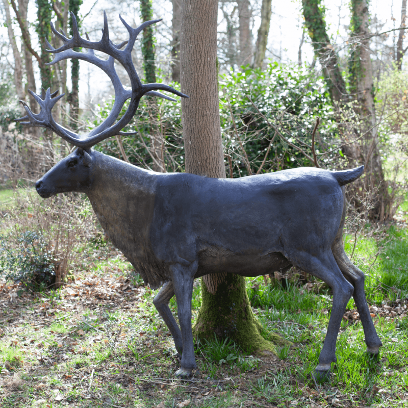 Reindeer Garden Statue
