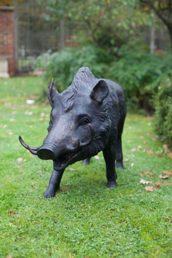 Bronze wild boar