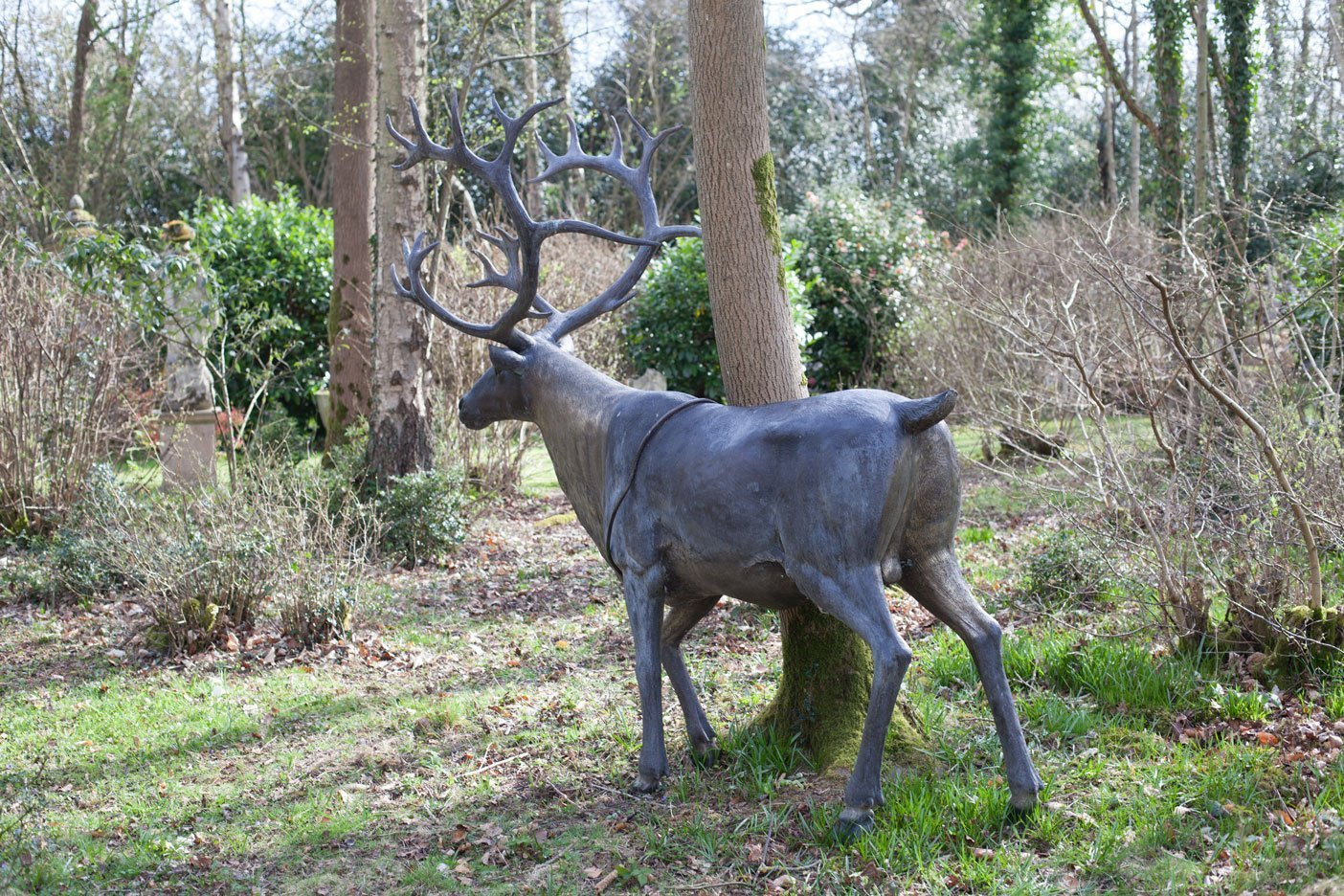 bronze reindeer