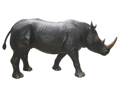 Charcoal Bronze Patina Example