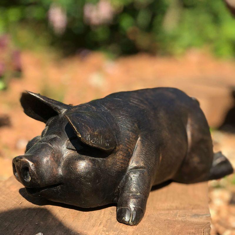 bronze piglet