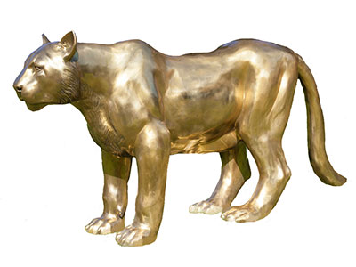 Gold Bronze Patina Example