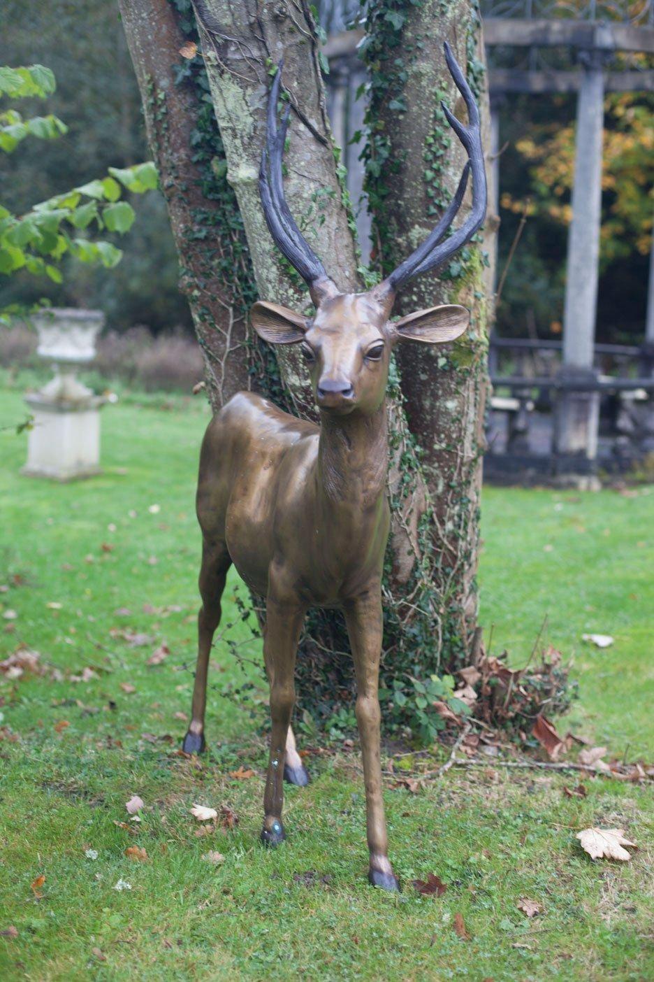 Bronze Stag Deer Adams Bronze