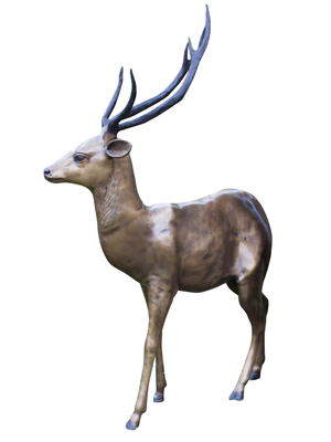 Bronze Small Stag
