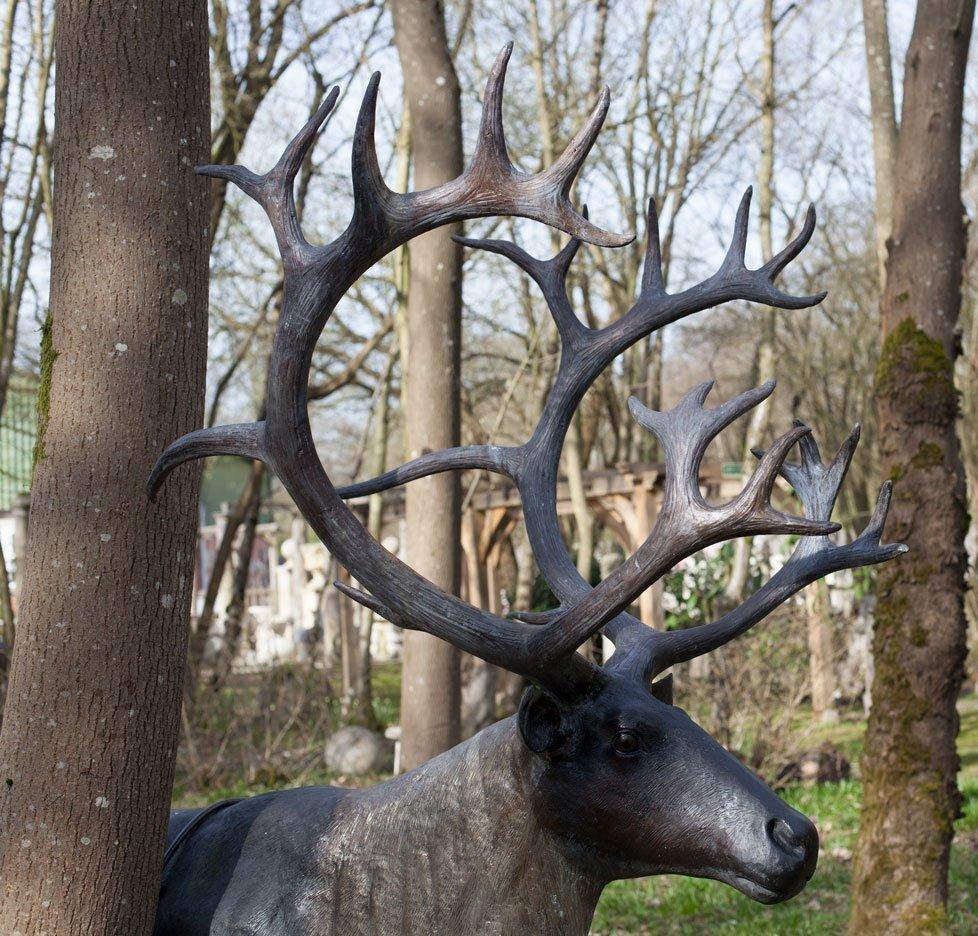 reindeer-head