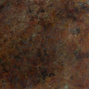 Rust Blue Marble Bronze Patina